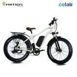 1000Wギヤモーターを搭載する脂肪質のタイヤの雪山の電気バイク