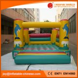 Bouncer de salto do Moonwalk de Inflatatable do golfinho para o brinquedo dos miúdos (T1-305)