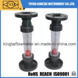 Mètre en plastique d'écoulement d'eau, rotamètre de l'eau