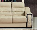 Jogo superior moderno do sofá do couro da sala de visitas da grão
