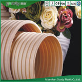 Pipes de PVC, pipe ondulée Double-Wall Sn8 de PVC-U