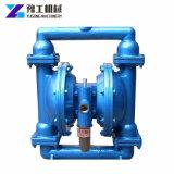 Doppelte Wasser-Hochdruckluft-pneumatische Membranen-Membranpumpe