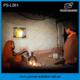 Lumière solaire de lanterne avec le panneau solaire DEL et 3.4W de 2W