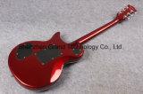 Guitare argentée Supreme de Lp de Tremolo de Lp Floyd Rose de 22 frettes