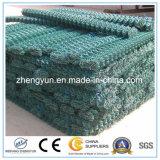 중국 공급자 돌 감금소 그물 또는 Gabion에 의하여 직류 전기를 통하는 6각형 철망사
