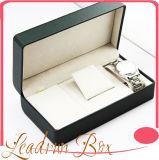 Cadre de mémoire en cuir de luxe d'étalage d'emballage de montre (Sy022)