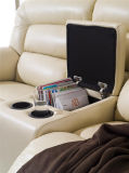 Model à la maison 924 de sofa de cuir de Recliner de meubles