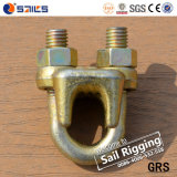 Type malléable de fournisseur de la Chine clips d'un câble métallique