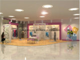 Lady Clothes Retail Store Display Furniture / Shop Display Cabinet
