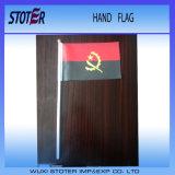 Выдвиженческий изготовленный на заказ флаг ручки руки с пластичным Поляк