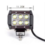 "4 "" 18W CREE DEL Auto Working Light hors de Road Light"