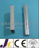 Profils en aluminium anodisés de brossage d'extrusion, profil d'échelle de Luminium (JC-P-10019)