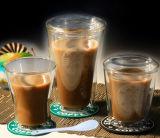 Двойная кофейная чашка 200 Starbucks боросиликатного стекла стены - 400ml