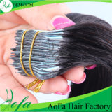가득 차있는 Cuticle 및 Tangle Free Abundant Stock Human Hair