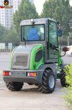 Heißer Verkaufs-Wolf 0.8 Tonnen-kleine Rad-Ladevorrichtung