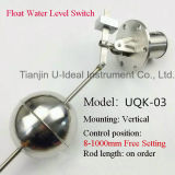 Regolatore di livello laterale/verticale del serbatoio di acqua dell'installazione, interruttore di galleggiamento del sensore del livello d'acqua