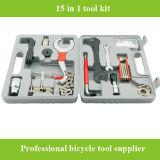 Комплект коробки 2016 инструментов ремонта велосипеда высокого качества