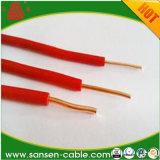 Le PVC spécial de H05V2-K H07V2-K H05V2-U H07V2-R n'en a isolé aucun les câbles de cuivre à un noyau de conducteur de Sheated