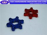 Peça de alumínio do CNC dos prendedores da cor do preço de fábrica