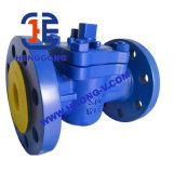 Valvola a rubinetto del acciaio al carbonio dell'olio di guarnizione della flangia PTFE di API/DIN/acciaio inossidabile