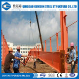 Stahl fabrizierte Halle-Anwendung und Q235 Q345b Träger des Grad-H