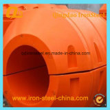 MDPE Pipe Floater para Dredging Project
