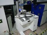 Máquina de fibra óptica da marcação do laser para o pacote