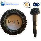 Il camion di forgia personalizzato dell'attrezzo BS5068 10/43 parte gli ingranaggi conici di azionamento di spirale posteriore dell'asse