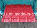 Листы цвета двойных слоев фабрики Китая стальные настилая крышу крен машины, Corrugated и трапецоидальных толя плитки формируя машину