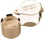 de Zilveren Diamant Magnifier van 10X18mm