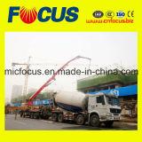 HOWO Chassis 14 de Kubieke Vrachtwagen van de Mixer van het Cement