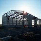 Большие сараи хранения стальной структуры космоса Pre проектированные для сбывания