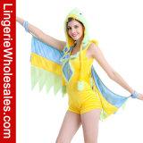 Romper Parakeet женщин с Costume Cosplay крылов животным на Halloween Cosrtume