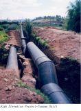 Dn63 HDPE van de Watervoorziening PE100 van Pn0.8 Pijp de Van uitstekende kwaliteit
