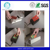 Kombiniertes RFID Card mit Dual Frequency RFID oder Contact IS Chip und Magnetic Stripe