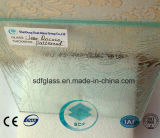 Clear Rococo Patterned Glass with CE, ISO (3-8mm)