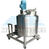우유 또는 주스 믹서 (ACE-JS-L8)를 가진 전기 난방 재킷 탱크 Pasteurizer