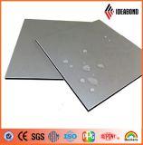 Taille personnalisée Argent Polyester Nano 4mm plaque d'aluminium pour les armoires de cuisine (AE-32D)