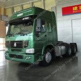 편평한 지붕 택시 Sino HOWO 6X4 트랙터 트럭