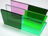 La feuille 100% à haute brillance de plexiglass PMM de perspex matériel de la Vierge a moulé la feuille acrylique d'acrylique de planche