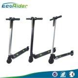 EcoRider due rotelle si leva in piedi il motorino in su piegante di E