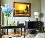 Pintura al óleo al por mayor de la decoración de la alta calidad, pintura de paisaje, pintura de la decoración (Y054)