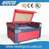 Preiswerter Preis CNC Laser-Ausschnitt und Gravierfräsmaschine