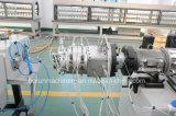 Cadena de producción gemela de la protuberancia del tornillo para los tubos