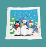 크리스마스에 의하여 압축되는 수건 눈사람 디자인 수건 (YT-679)