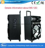 Aktiver professioneller im Freien drahtloser Lautsprecher Ms-12D mit Bluetooth/FM/MP3/SD