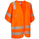 Buena calidad de alta visibilidad reflectante seguridad chaleco. Ropa Seguridad