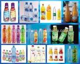 La disminución de la etiqueta etiqueta de la botella de la máquina de etiquetado de la manga