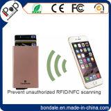 Владельца карточки удостоверения личности RFID алюминиевый с преграждать функцию