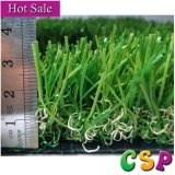 Hierba artificial impermeable de alta densidad de la buena calidad